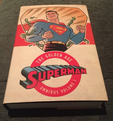 Golden Age Superman Omnibus Vol.1-Cover