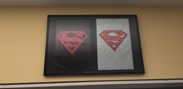 Death and Return of Superman Frame