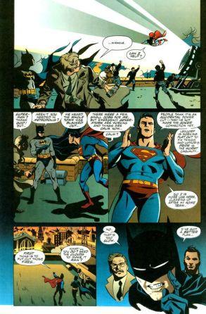 Worlds Finest Superman Batman- Rude